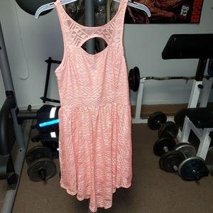 Material Girl jrs sz medium high low summer dress